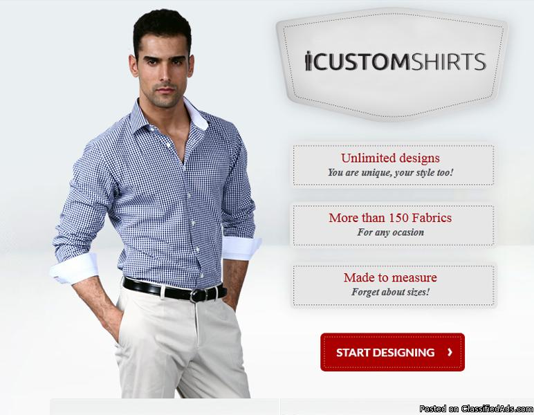 custom shirts for men